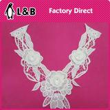 3D-женщин кружевной вырез горловины Applique муфты