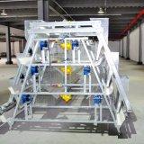 De Apparatuur van het gevogelte met Geprefabriceerd huis voor Één Einde van Fabriek