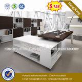 Muebles de oficinas modernos del color de caoba y negro (HX-8N0412)