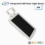 6W 통합 PIR 센서 LED 태양 정원 빛