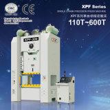 Type presse de pouvoir mécanique détraquée simple de précision (110ton-600ton) de portique de Xpf