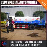 8cbm 8000 litros de agua de carro del tanque, petrolero del agua del acero inoxidable 304