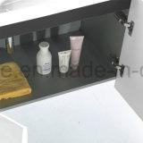 Modernes Furnierholz-Ivory Farben-Wand-hängende Badezimmer-Eitelkeit kombiniert (ACS1-L24)