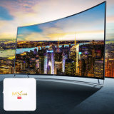 MxのNetflix 2.4G WiFi 2017年のTVボックスメディアプレイヤーとの小型白いアンドロイドIPTV TVボックスS905X 2g DDR 16g Emmc 4K