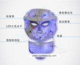 Rejuvenescimento Ance da pele e máscara do diodo emissor de luz do tratamento da face com garganta