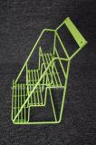 3 Reihe-Gegenmetalldraht-Korb-Bildschirmanzeige-Zahnstange für Imbiss-Süßigkeit