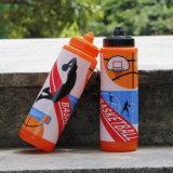 Garrafa de água com design de basquetebol de promoção