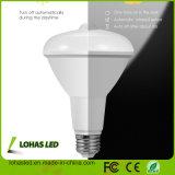 UL CE RoHS FCC PSE CCC TUV LVD EMC SAA INFRAROUGE LED spot ampoule du capteur de mouvement pour les USA marché britannique, Br30 Capteur de mouvement IRP Ampoule de LED