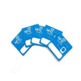 Etiquetas baratas imprimibles modificadas para requisitos particulares viruta de FM1108 13.56MHz NFC