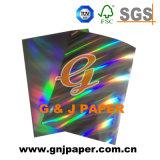 Conception personnalisée de bonne qualité Contact holographique de papier imprimable