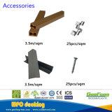 Напольный используемый полый деревянный пластичный составной Decking 145*21mm Co-Extrusion