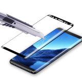 película transparente curvada 4D del protector del vidrio Tempered para Samsung Note8