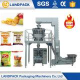 macchina imballatrice dell'alimento per animali domestici 1kg delle patatine fritte della farina d'avena del riso delle arachidi della mandorla del fagiolo del pesatore Nuts automatico di Multihead