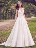 Сарафан атласный шарик платье рельефная Appliqued кружева простой устраивающих платье мы116