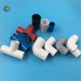 똑바른 PVC 티 관 PVC 관 이음쇠를 위한 Plasticc 티