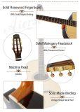 Ручная работа цельной древесины цыганского акустическая гитара для продажи
