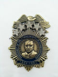 Personalizar el emblema de metal esmaltado/Ejército militar/Souvenir/logotipo coche insignia de solapa/estaño/botón/insignia de la policía