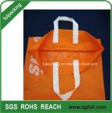 Weiche Schleifen-PlastikEinkaufstasche mit Verstärkung