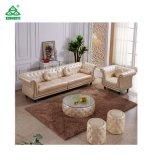 Sofá del cuero de los muebles de la sala de estar para la venta