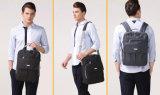 Sacoche pour ordinateur portable occasionnelle d'épaule d'emballage de paquet de valise imperméable à l'eau en aluminium à triple fonction d'affaires double pour les hommes et des femmes