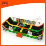 : Эластичный крепеж батут кровать адаптированные для использования внутри помещений батут парк