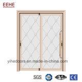 Дверь матированного стекла стеклянной двери Frameless гостиницы алюминиевая для ванной комнаты