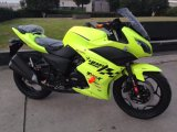 Motocicleta 200cc refrigerar de água que compete a bicicleta