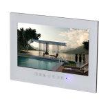 Fabricante impermeable del cuarto de baño TV LED TV del sistema androide elegante blanco de 22 pulgadas