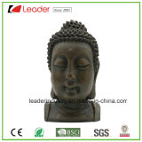 La statua orientale capa decorativa di Polyresin Buddha con la pietra antica cerca a casa e fa il giardinaggio decorazione