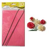Flor de papel artesanal DIY Kit de Material de clavel