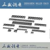 Une série de duplex en acier inoxydable Hauteur de courtes chaînes de rouleaux de précision