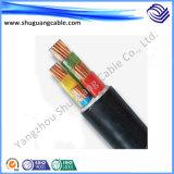 Baixo fumo/baixo Halogen/Al Screened/PVC Insulated/PVC Sheathed/cabo do computador