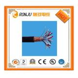 Verde amarillo de 8 mm de puesta a tierra Cable de cobre de Conductor de cobre aislados con PVC, alambre y cable de PVC de 8mm cable de masa