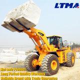 Macchinario del granito di Ltma caricatore cinese della rotella da 25 tonnellate con la forcella