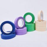 Heißes Produkt-bunte Krepp-Papier-selbsthaftendes Kreppband-riesige Rolle auf Verkauf