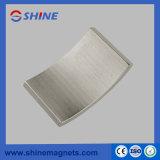 Magnete industriale a forma di del magnete 38uh del motore di segmento