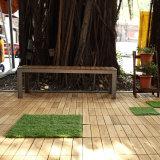 Telhas de madeira de bloqueio impermeáveis do Decking da madeira do assoalho da acácia decorativa do jardim ao ar livre no preço barato