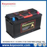 Батарея автомобиля 12V быстро старта 90ah 24 коробки цвета батареи автомобиля вольта