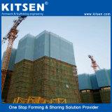 De Types van Aluminium van China van Zelf het Beklimmen van het Systeem van de Steiger Steiger