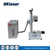 Bewegliche mini Tabletop Faser-Laser-Markierungs-Maschine mit Dreheinheit