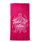 100%年の綿によって印刷される浴室タオル