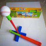 Basebol de borracha da espuma para brinquedos internos e ao ar livre da família