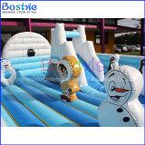 Campo de jogos inflável do parque de diversões o mais novo para a venda