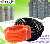 Câble électrique en PVC souple du conduit de la conduite en carton ondulé