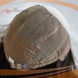 Peluca médica del pelo del frente europeo del cordón (PPG-l-01788)