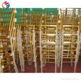 Empilant le banquet en aluminium d'hôtel dinant la présidence de Chiavari de mariage de présidence (HLY-CC016)