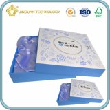 Картонная коробка изготовленный на заказ подарка упаковывая для косметики (бумажная косметическая коробка)