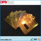 2 Ply глянцевая умирают Срежьте пластмассовый лист АБС для лазерной гравировки Государственного Знака
