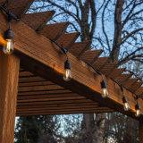 屋外X-Masの装飾のための取り外し可能なS14 E26/E27 LEDストリングライト