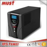 Longue ligne de sauvegarde UPS interactif 650va 800va 1000va 1200va de mini écran LCD sec à la maison d'utilisation